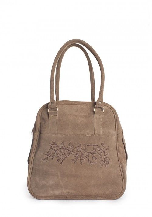 Bowling Taupe. Bolso tipo Bowling| Bowling-type bag| Sac type bowling| Borsa tipo bowling
