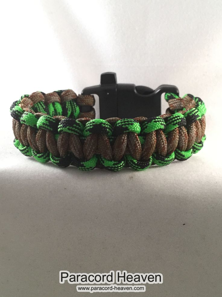 This is our brand new product just out: Lumber Jack - Cob... Check it out right here! http://www.paracord-heaven.com/products/lumber-jack-cobra-paracord-bracelet-with-emergency-whistle
