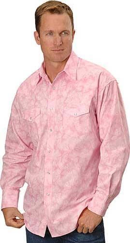 Розовый галстук и серая рубашка