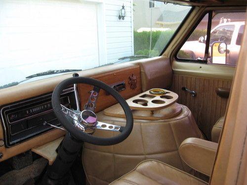 1974 Ford Econoline Interior