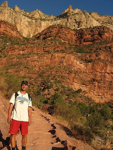 Hiking South Rim at The Grand Canyon: http://www.ytravelblog.com/our-4-day-grand-canyon-vacation/