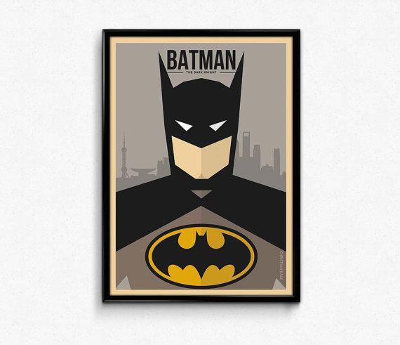 Batman #batman #batmanbegins #batman #darknight #gotham #movie #minimalist #art #poster #print #dccomicposter #comicposter #character #illustration #walldecor #gift #idea #etsy #lotusdesinz #discount #sale #christianbale