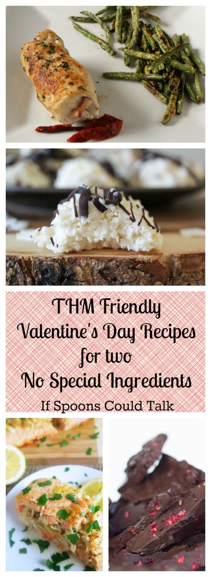 Healthy Valentine's Day Recipes that are all on Trim Healthy Mama and have no special ingredients. They are easy but look fancy, perfect for a weeknight Valentines
