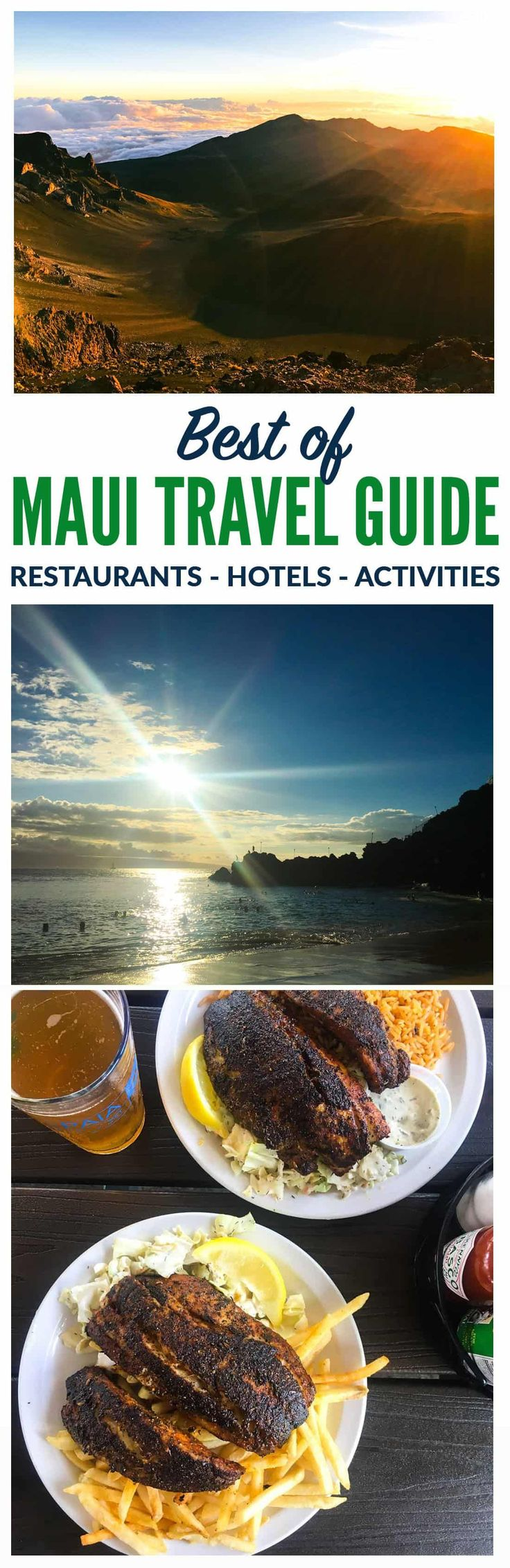 What to See, Do and Eat in Maui. Things to do, beaches, and best restaurants. This is the Ultimate Maui Travel Guide! Everything you need to know to plan the perfect trip. Includes a four day Maui itinerary with all of the top Maui sites and Maui restaurants. #maui #hawaii #travel via @wellplated