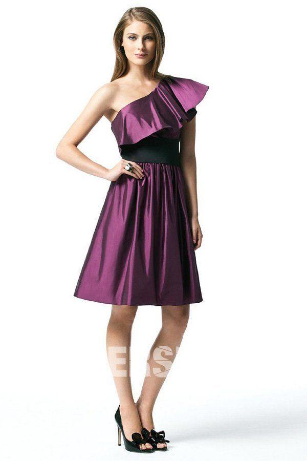 purple Bridesmaid Dresses UK