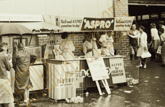 Royal Easter Show 1960's - these showbag displays are so close to the aesthetic of carny world hard not to include