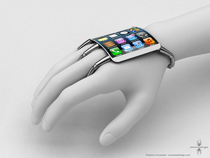 concept of a wearable wrist watch computer that is bizarre to say the least.