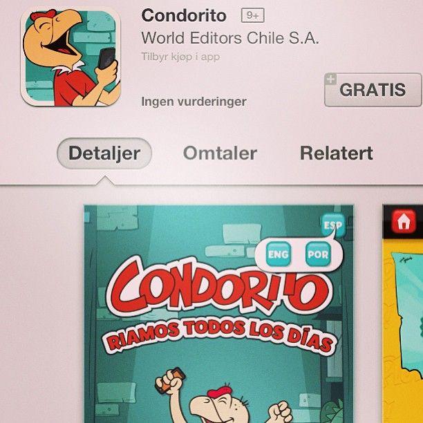 ¿Y ustedes ya descargaron mi #App ? Estoy en varios idiomas! Plop! #Condorito #Tecnología  http://hlk.cl/14NpXVb