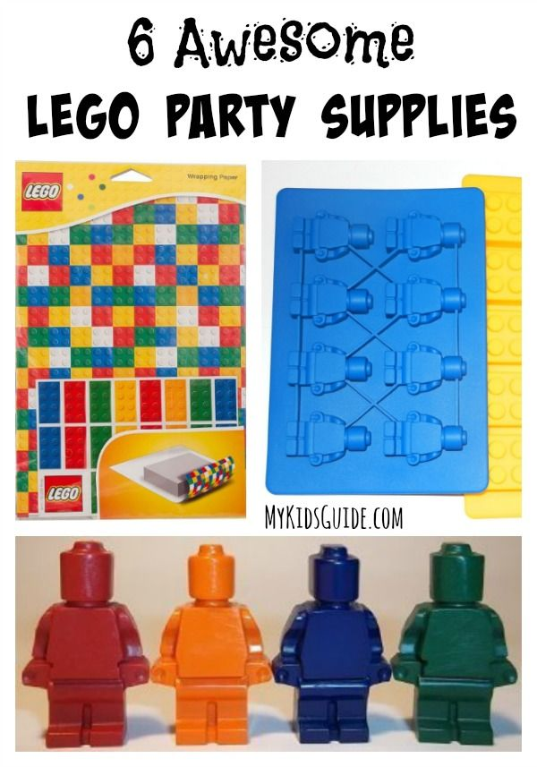 6 Awesome Lego Party Supplies: If your kids loved The Lego Movie, then they will love these 6 Awesome Lego Party Supplies that will let you build party connections that last a lifetime!