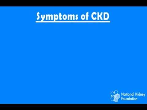 Chronic Kidney Disease Signs & Symptoms, Part 3 - YouTube