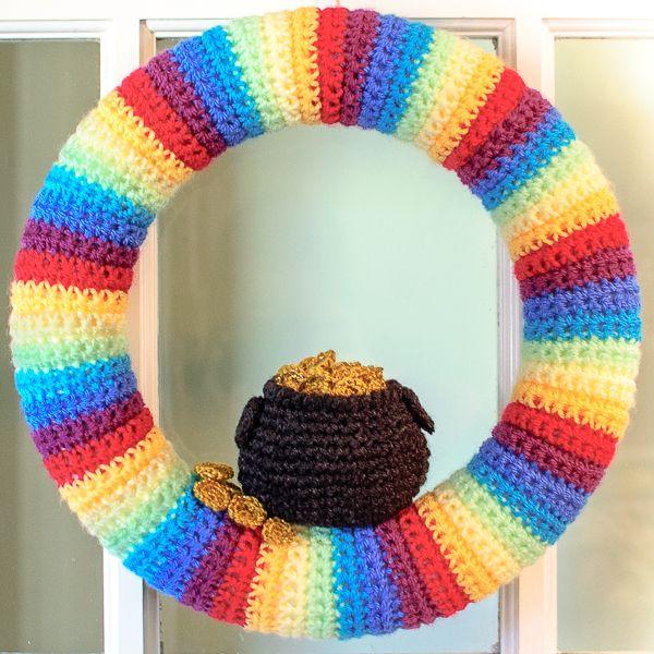 208 Best Crochet Wreaths Images On Pinterest Crochet Wreath