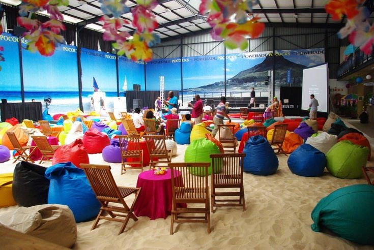 Indoor Beach Party Games