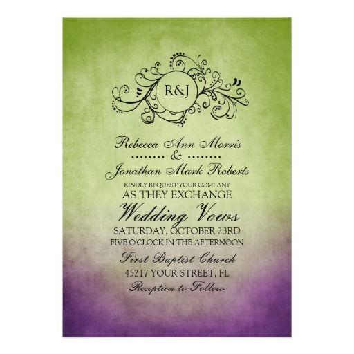 374 best Bohemian Wedding Invitations images on Pinterest