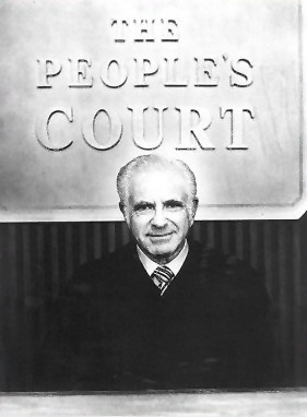 The People's Court (Judge Wapner) - Just looking at this makes me want to STRANGLE DUSTIN HOFFMAN. How many of you know what I mean?