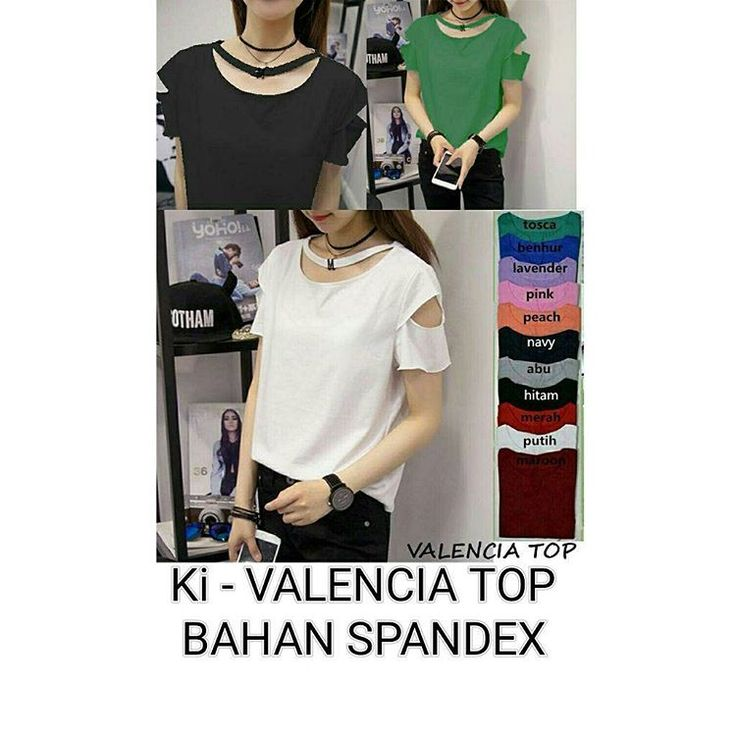valencia top @33rb  Info order ���� ��BBM : D6A1B687 ��WA : 087774111128 Welcome reseller ��  #jualbajumurahmeriah #jualbajucewek #jualbajuwanita #jualbajuwanitamurah #fashionph #supplierbajumurah #1sthand #resellerwelcome #supplierjakartamurah #bajuwanitamurah #readystock #jualbajucouple #bajukekinian #shopping #onlineshop #onlineshopping #fashion #pakaian #bajukekinianmurah #shopee #jaketcewek #jaketcewekmurah #jualdress #jualdressmurah #sabrinamurah #onlineshopjakarta #bajucewekmurah…