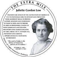The Juliette Gordon Low Commemorative Medallion Part Of
