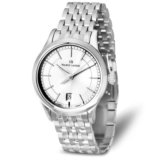 Maurice Lacroix, 3580 PLN www.YES.pl/54682-zegarek-maurice-lacroix-TC34236-S0S00-000000-000 #jewellery #Watches #BizuteriaYES #watch #silver #elegant #classy #style #buy #Poland