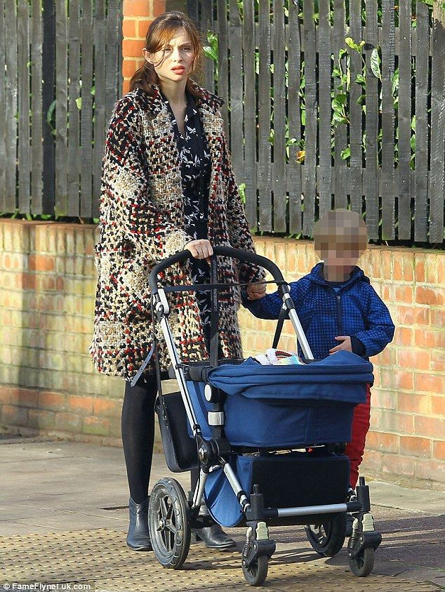Doting mother: Sophie Ellis-Bextor was recently seen enjoying some quality time with her n...