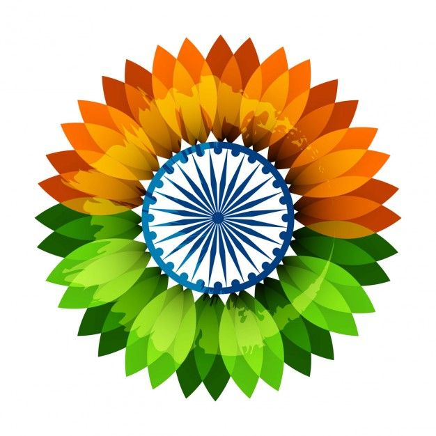 Flower in indian flag✖️Indian Flag ✖️More Pins Like This One At FOSTERGINGER @ Pinterest✖️