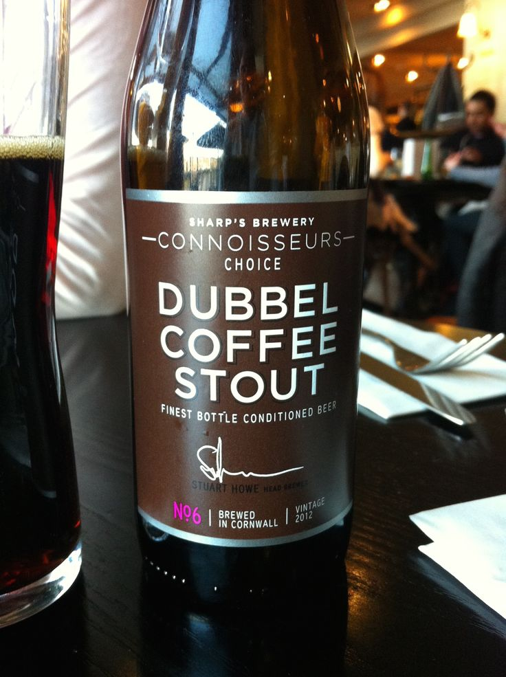 Sharp's Brewery No.6 Dubbel Coffee Stout 7% ABV. Very intense. Needs to be drunk with a meal and a rich dessert! Cornwall. 9/10