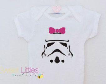 Star Wars Inspired Onesies/Storm Trooper/Baby Girl/Star Wars
