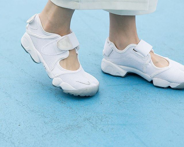 Nike Air Rifts.