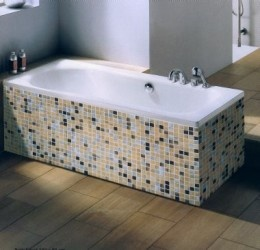 How to repair a scratched steel bath.