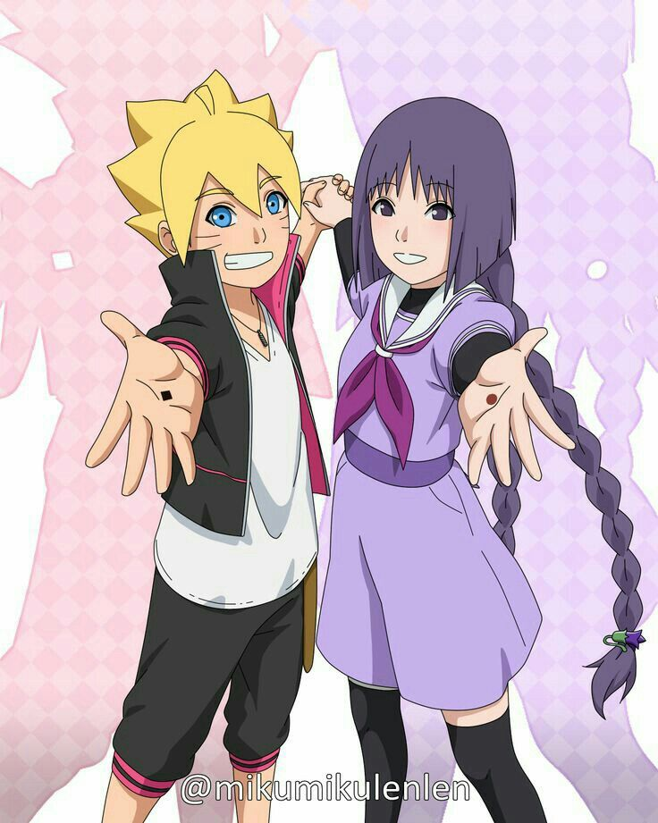 Boruto E Sumire Meninas Naruto Animes Boruto Kushina Uzumaki