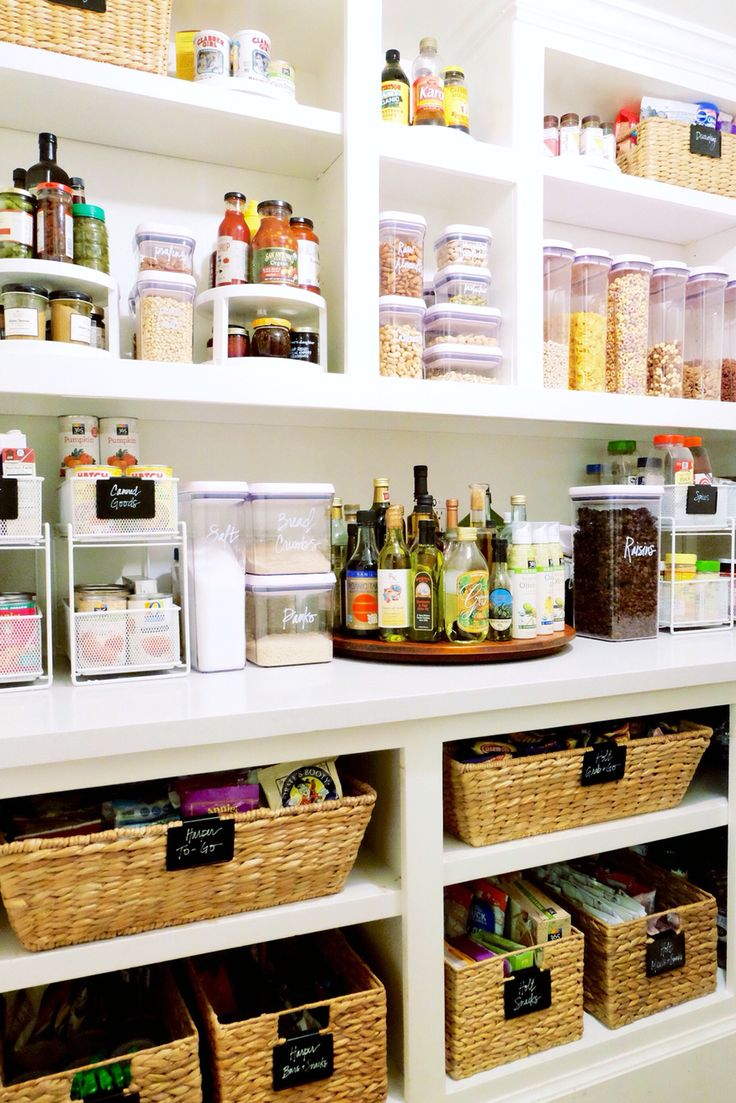 56 best [ Pantry ] images on Pinterest | Kitchens, Organization ...