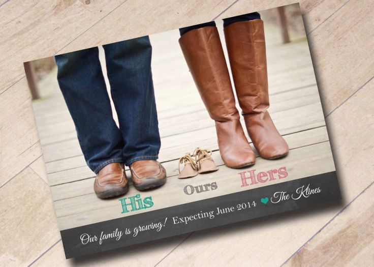 We're Expecting Announcement Shoe Photo Digital by areUin on Etsy, $15.00