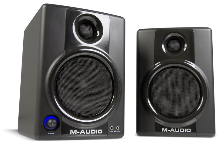 M-Audio Studiophile AV40 MKII | Active Speaker System (2-way, 20 Watt)