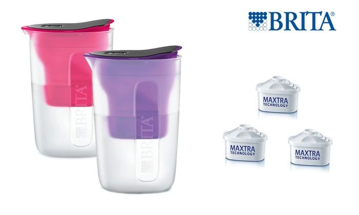 Brita: $29 for a Brita Fill & Enjoy 1.5L Water Filter Jug with Three Additional Maxtra Filters (Don't Pay $97.95)