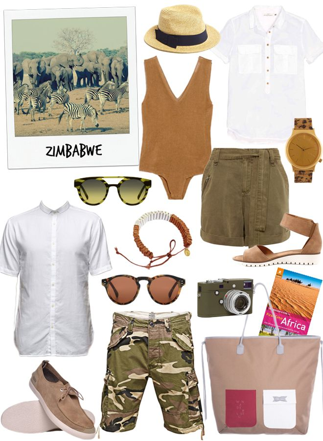 zimbabwe outfit