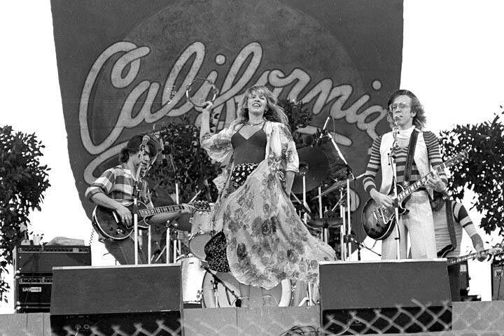 Stevie Nicks and Bob Welch, 1978.