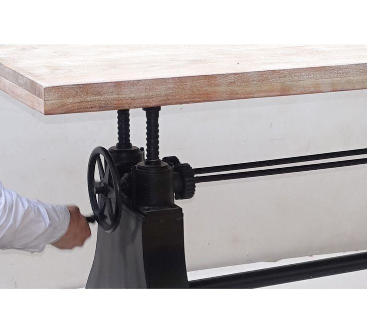 17 Best ideas about Pied Table on Pinterest  Pied de  ~ Table Bois Pied Metal