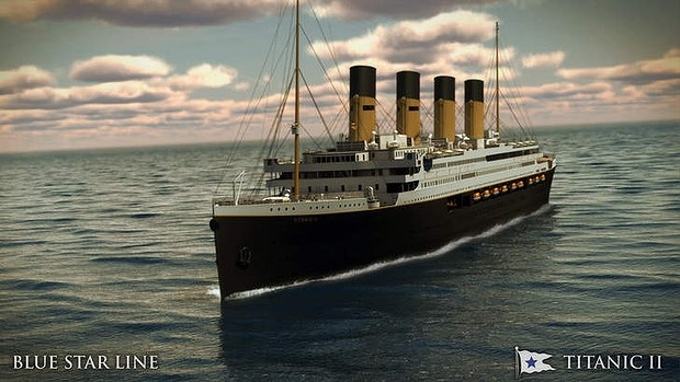Titanic II will be re-created by Australian billionaire Clive Palmer