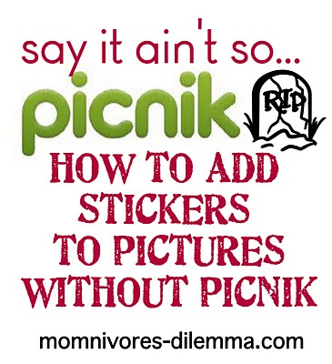 life as we know it isn't over, my dear bloggers.  there are ways to undo the heartbreak that is the loss of picnik