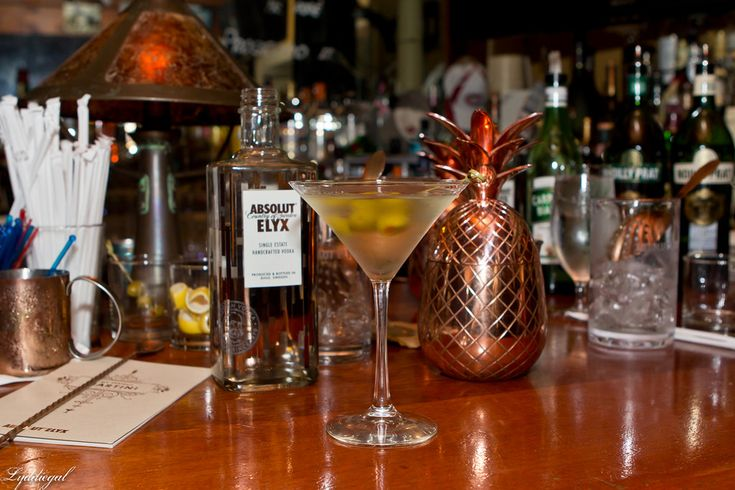 Martinis with Absolut Elyx