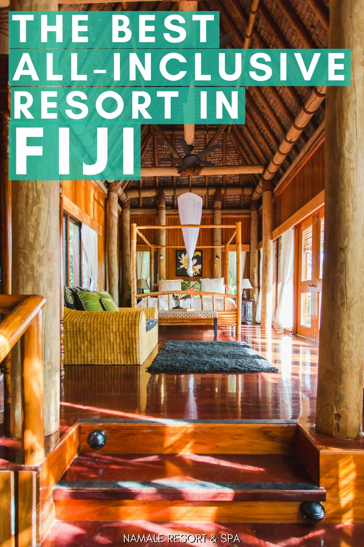 This all-inclusive adults-only resort in Fiji (northern island) is unlike any other - only 19 bungalows and villas (perfect for your honeymoon), 4-to-1 staff-to-guest ratio, and the most comprehensive list of activities in all of Fiji   fiji honeymoon   fiji vacation   best fiji resorts   best fiji hotels   fiji resorts all inclusive   fiji resorts honeymoon   fiji resort bungalows