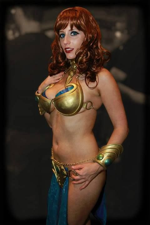 Abby Dark-Star As The Guild Dancer From Swtor  Cosplay -1173