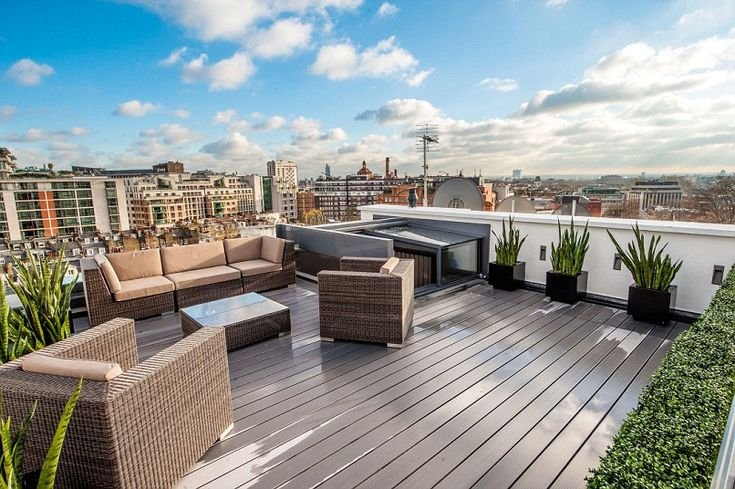 London homes with gorgeous roof gardens