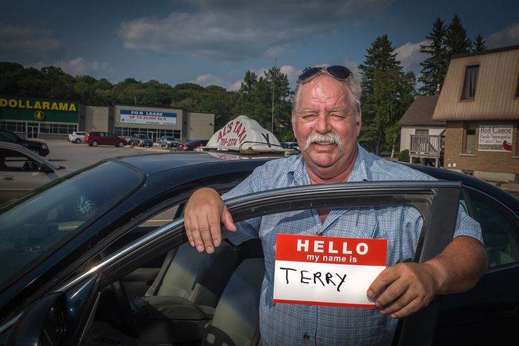 TERRY is a taxi cab driver saying Hello. He is like a bartender... His passengers tell him a LOT of interesting things. His cab is like a rolling confessional! #Hello #Art #PhotoProject #Unite #Portrait #Muskoka
