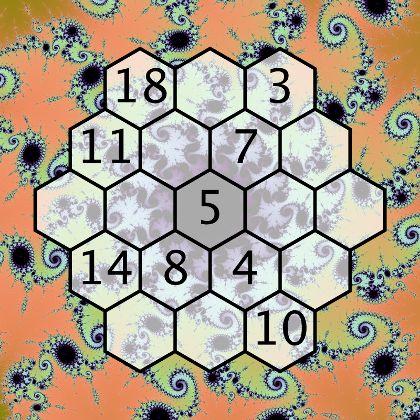 Magic Hexagon Puzzle Cool Math GamesGames
