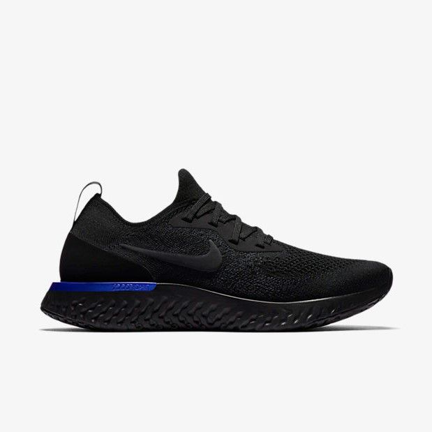 7629486ff27a9 Nike Epic react Flyknit Triple Black or Black