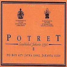 Album Potret II - Potret   Melly Goeslaw, Anto Hoed, Ari Ayoenir   1997