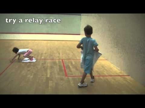 Bewegen met kleuters op een theedoek / Physical Activity for Young Children: Move around on a Towel to improve strength. Children s Physical Activity Motor Skill