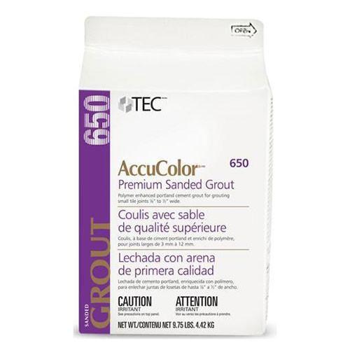 Tec AccuColor Premium Sanded Grout - 9.75 Lb