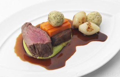 Beef Fillet With Shoulder Marrow & Dumplings - Great British Chefs
