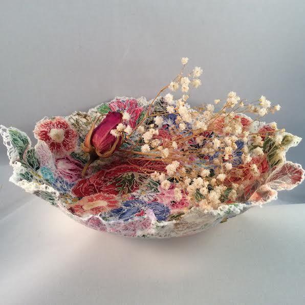 Vintage Fabric Bowl £30.00