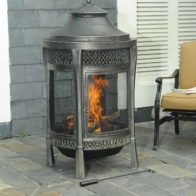 Sunjoy Moira Cast Fireplace